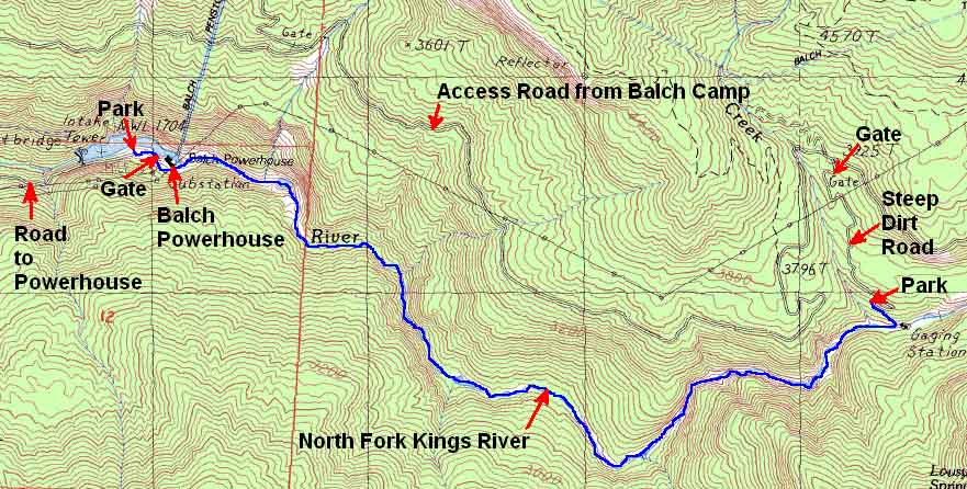 North Fork Kings River